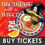 buy breakfast with a witch tickets