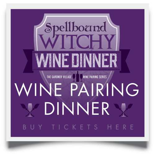 Spellbound Witchy Wine Dinner buy tickets here